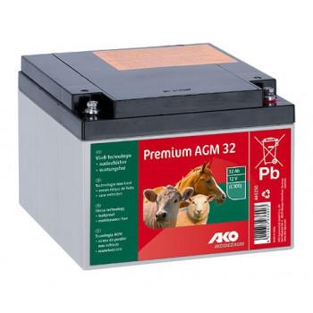 Elektrikarjuse aku AGM 32 Ah
